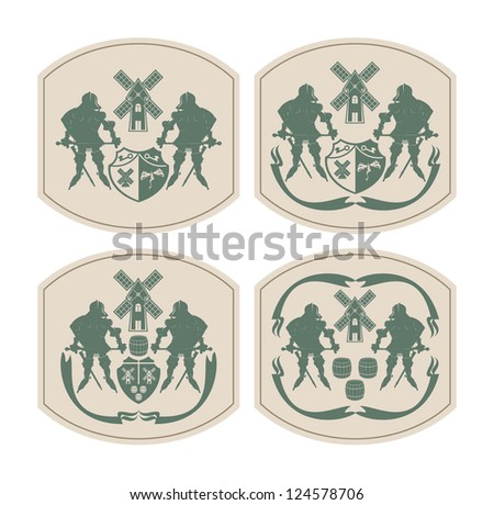 emblems on beer coasters  3