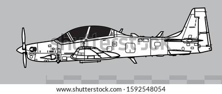 embraer emb 314  a 29  super