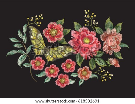 embroidery colorful trend