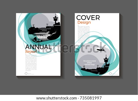 modern book cover page or brochure design download free vector art