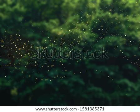 emerald greenery forest foliage