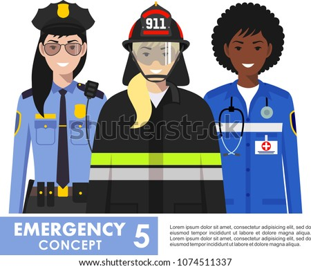emergency concept detailed