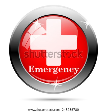 emergency icon internet button