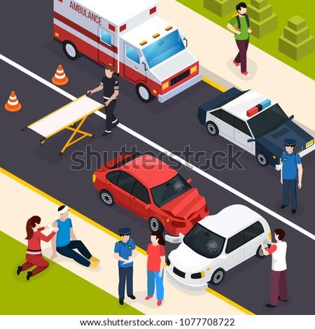 emergency team isometric