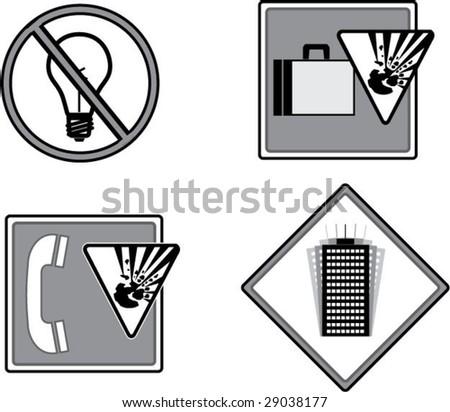 Emergency vector icons