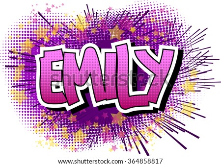 emily   comic book style female
