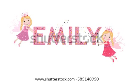 emily female name with cute