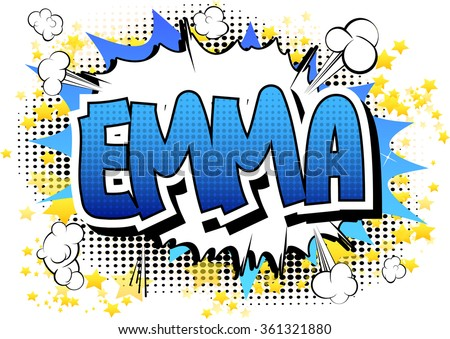 emma   comic book style female