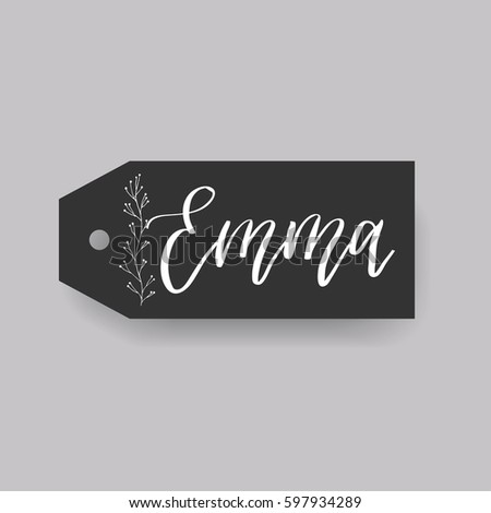 emma   common female first name