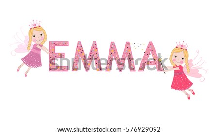 emma female name with fairy