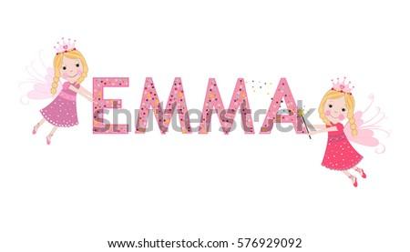 emma female name with fairy