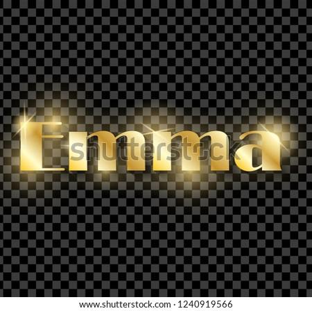 emma golden shining name