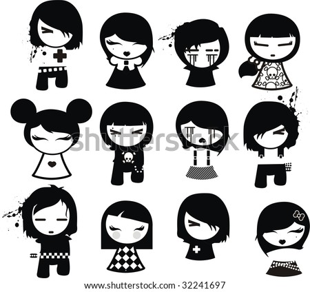 emo characters