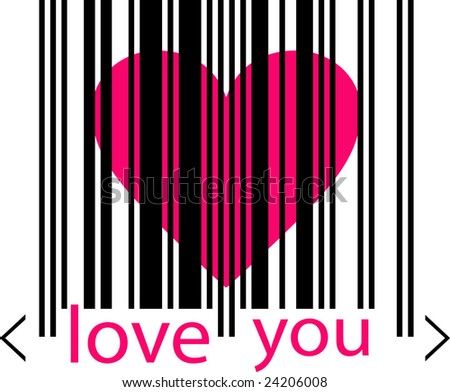 emo love heart pictures. stock vector : emo love