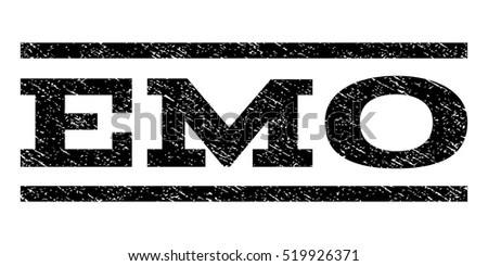emo watermark stamp text tag