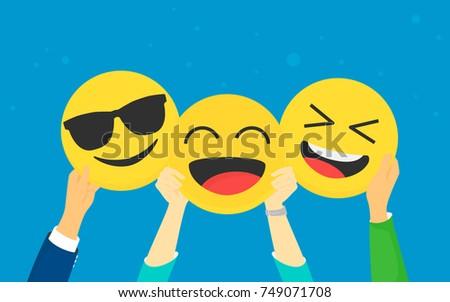 emoji concept vector