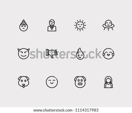 Sun Emoji Set - Download Free Vectors, Clipart Graphics