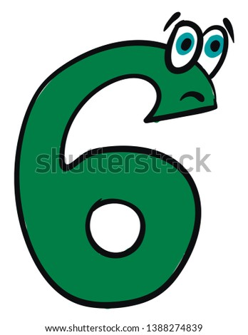 emoji of the number six in