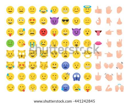 emoticon emoji set