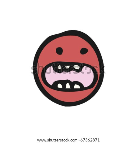 Panic Face Cartoon http://www.shutterstock.com/pic-67362871/stock-vector-emoticon-face-cartoon.html