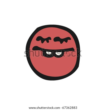Panic Face Cartoon http://www.shutterstock.com/pic-67362883/stock-vector-emoticon-face-cartoon.html