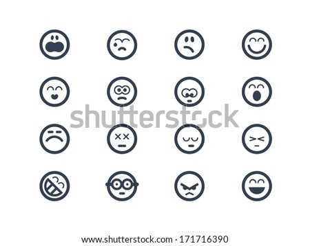 Emoticon icons