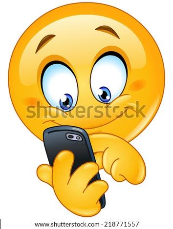 emoticon using mobile smart