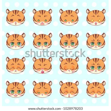 emoticons  emoji  smiley set