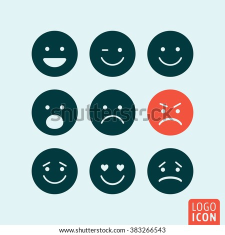 emoticons icon set emoji icons