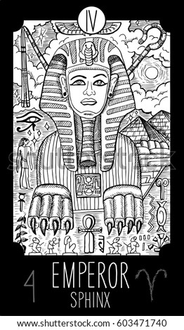 emperor 4 major arcana tarot