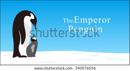 emperor penguin family love