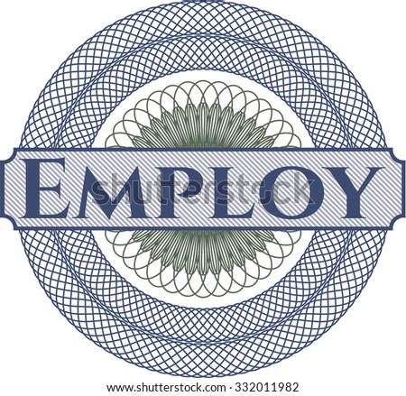Employ abstract rosette