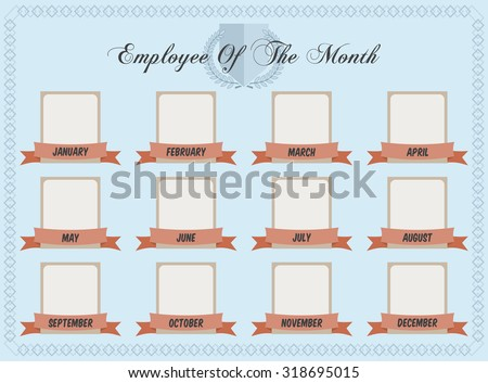 employee of the month chart