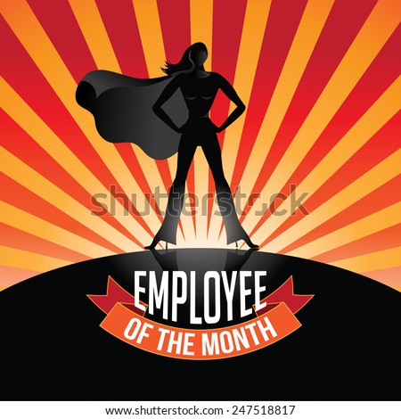 employee of the month burst eps