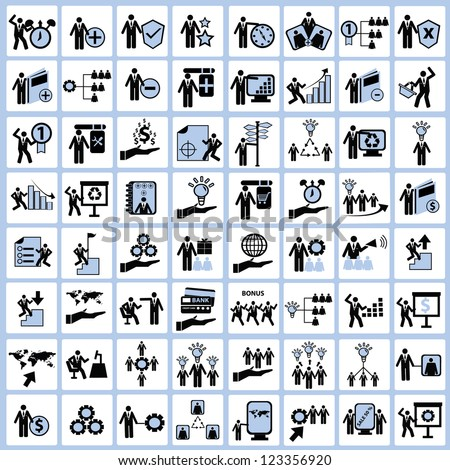 Employment,Human resource and Business concept Icon set,Vector