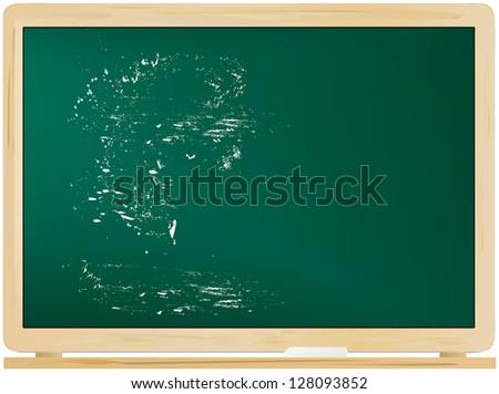 empty blackboard / chalkboard, free copy space,vector