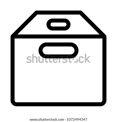 empty box container