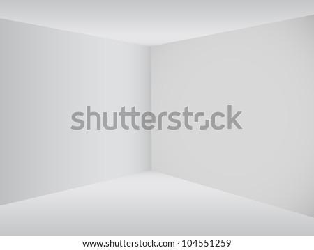 empty corner in the room