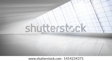 empty interior with large