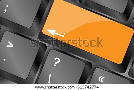 empty keyboard keys enter