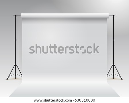 empty photo studio realistic