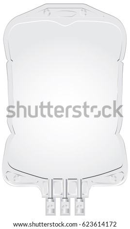 empty plastic container for