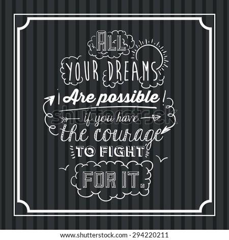 encourage quotes digital design