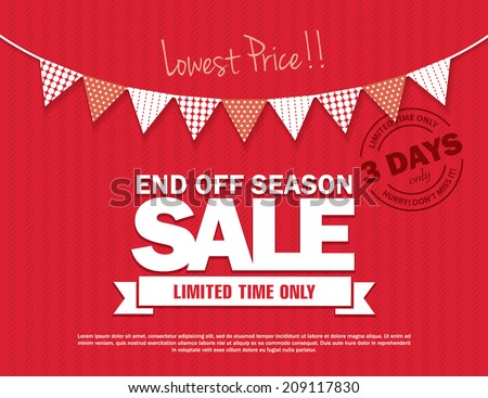 End Off Season Sale