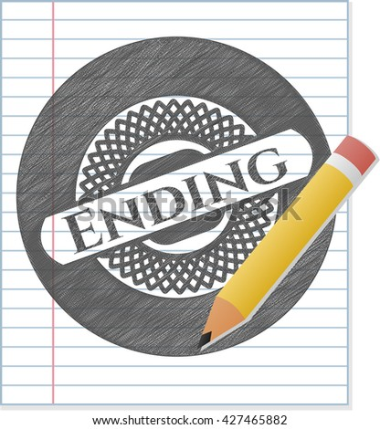Ending pencil draw