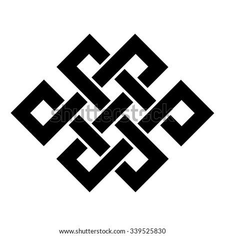 endless knot tibet  eternal