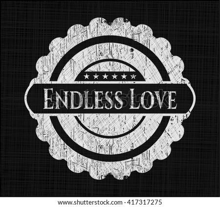 Endless Love chalkboard emblem