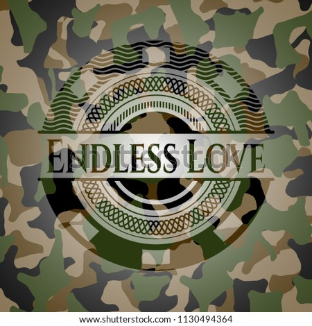 endless love on camouflaged