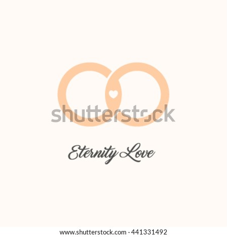 endless love vector logo