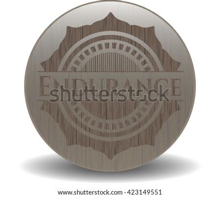 Endurance realistic wood emblem
